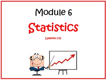 PPT Lessons for Eureka Math (Engage NY) 6th Grade Module 6 Lessons 1-11
