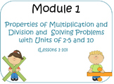 PPT Lessons for Eureka Math (Engage NY) Third Grade Module 1 Lessons 1-10