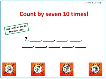 PPT Lessons for Eureka Math (Engage NY) Third Grade Module 3