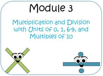 Eureka Math (aka Engage New York) Third Grade Module 3