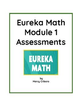 Eureka Math assessments/rubrics for all 6 kindergarten modules