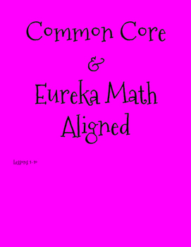 Eureka Math lessons 1-10 Quick Check