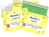 Eureka Math (or Engage New York) Module 1 All 39 lessons