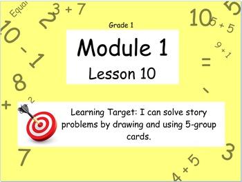 Eureka Math (or Engage New York) Module 1 Lesson 10
