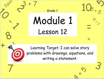 Eureka Math (or Engage New York) Module 1 Lesson 12