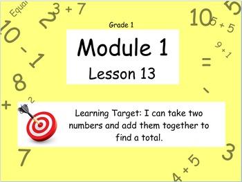 Eureka Math (or Engage New York) Module 1 Lesson 13