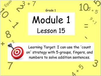 Eureka Math (or Engage New York) Module 1 Lesson 15