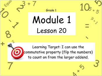 Eureka Math (or Engage New York) Module 1 Lesson 20