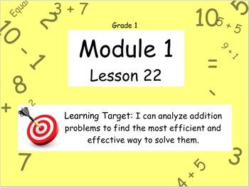 Eureka Math (or Engage New York) Module 1 Lesson 22