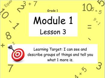 Eureka Math (or Engage New York) Module 1 Lesson 3