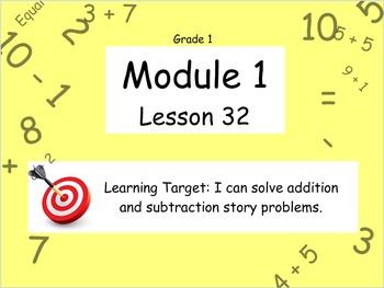 Eureka Math (or Engage New York) Module 1 Lesson 32
