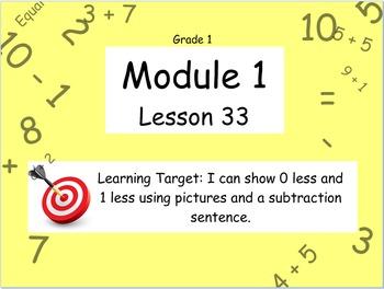 Eureka Math (or Engage New York) Module 1 Lesson 33