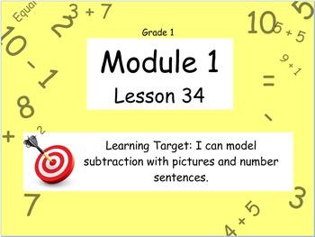 Eureka Math (or Engage New York) Module 1 Lesson 34
