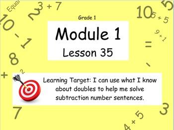 Eureka Math (or Engage New York) Module 1 Lesson 35