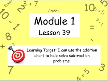 Eureka Math (or Engage New York) Module 1 Lesson 39