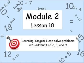 Eureka Math (or Engage New York) Module 2 Lesson 10