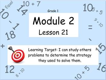 Eureka Math (or Engage New York) Module 2 Lesson 21