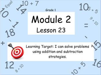 Eureka Math (or Engage New York) Module 2 Lesson 23