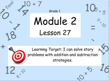 Eureka Math (or Engage New York) Module 2 Lesson 27