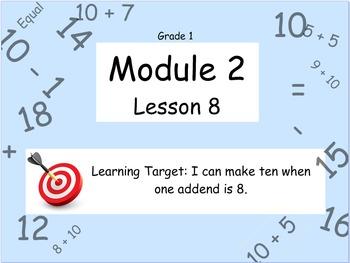 Eureka Math (or Engage New York) Module 2 Lesson 8