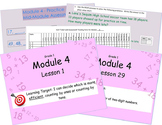 Eureka Math (or Engage New York) Module 4 All 29 lessons