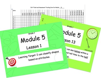 Eureka Math (or Engage New York) Module 5 All 13 lessons