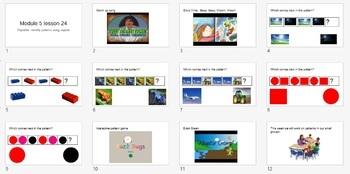 Eureka Math prek Powerpoint slides
