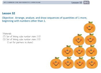 Eureka Math/Engage NY Kindergarten Module 1 Lesson 32
