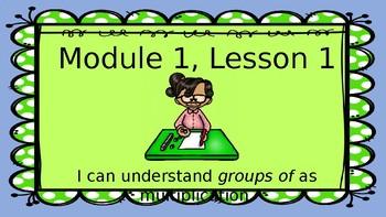 Eureka Module 1 Lesson 1