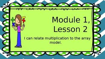 Eureka Module 1, Lesson 2