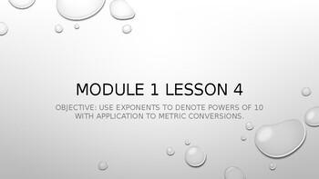 Eureka Module 1 Lesson 4 Powerpoint