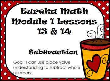 Eureka Module 1 Lessons 13 and 14