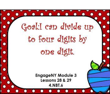 Eureka Module 3 Lesson 28&29