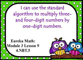 Eureka Module 3 Lesson 9