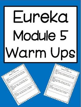 Eureka Module 5 Warm Ups: Third Grade