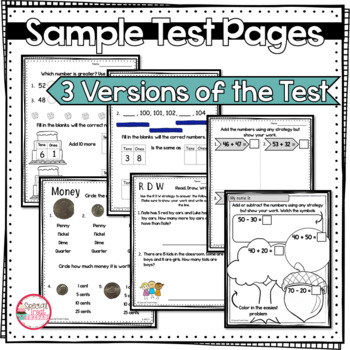 Eureka Module 6 Test 1st Grade