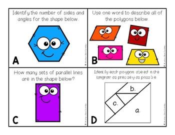 Eureka Module 8: Geometry Task Cards