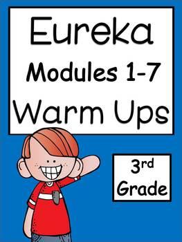 Eureka Modules 1-7 Warm Ups Bundle