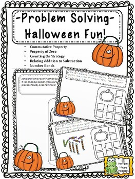 Addition and Subtraction Word Problems -  Halloween Fun