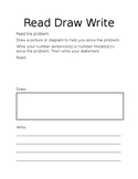 Eureka Read, Draw, Write Template