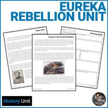 Eureka Rebellion - The Birth of Australian Democracy mini-unit