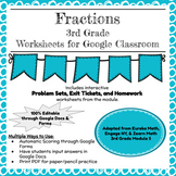 Distance Learning 3rd Grade Math Module 5 (Fractions) - Do