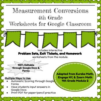 Eureka, Zearn, & Engage NY 4th Grade Math Mod 2 Problem Sets, Exit Tickets, Hmwk