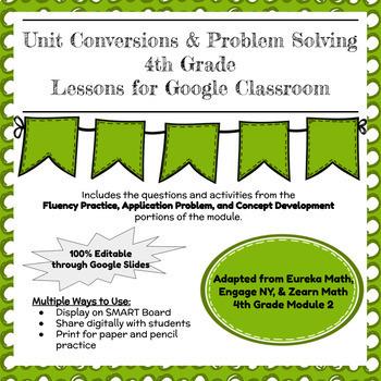 Eureka, Zearn Math, & Engage NY 4th Grade Math Module 2 for Google Classroom!