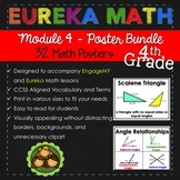 Eureka and Engage NY Math Posters - Fourth Grade (Module 4)