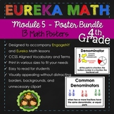 Eureka and Engage NY Math Posters - Fourth Grade (Module 5)