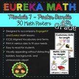 Eureka and Engage NY Math Posters - Fourth Grade (Module 7)