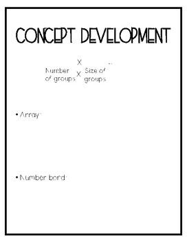 Eureka math Grade 3 Module 1 Lesson 3 Guided Notes