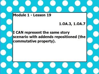 Eureka math module 1 lesson 19 first grade
