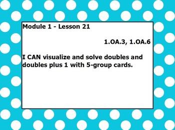 Eureka math module 1 lesson 21 first grade